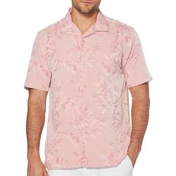Mens Floral and Leaf Jacquard Shirt