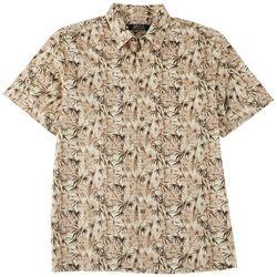 Boca Classics Mens Bamboo Print Button Down Shirt