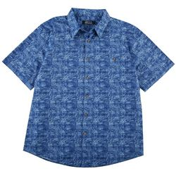 Boca Classics Mens Marine Cotton Shirt