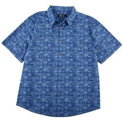 Mens Marine Cotton Shirt