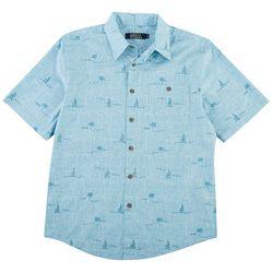Boca Classics Mens Palmtree Shirt