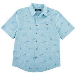 Mens Palmtree Shirt