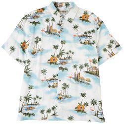 CAMPIA Mens Islands Short Sleeve Shirt