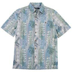 Boca Classics Mens Printed Woven Shirt