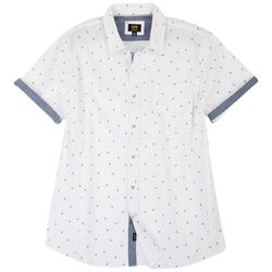 Lee Mens Danny Palms Button Up Collared Shirt
