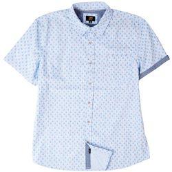 Lee Mens Danny Sailboat Print Poplin Button Up Shirt