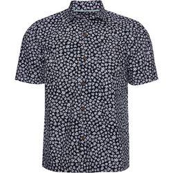Caribbean Joe Mens Floral Print Button Down Shirt
