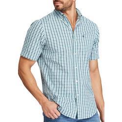 Mens Tattersall Button Down Shirt