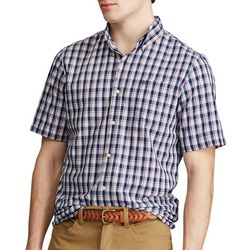 Chaps Mens  Americana Tattersall Button Down Shirt