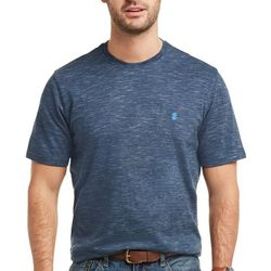 IZOD Mens Solid Slub Knit Short Sleeve T-Shirt
