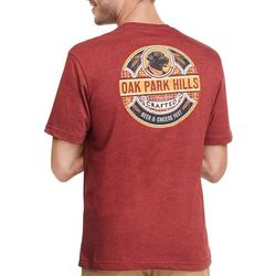 IZOD Mens Oak Park Hills Short Sleeve T-Shirt