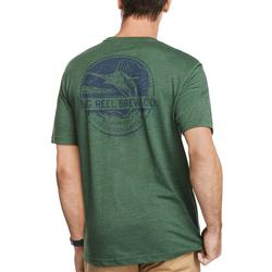Mens Big Reel Brew Short Sleeve T-Shirt