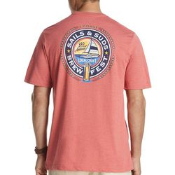 IZOD Mens Sails & Suds Short Sleeve T-Shirt