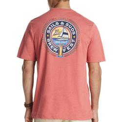 Mens Sails & Suds Short Sleeve T-Shirt