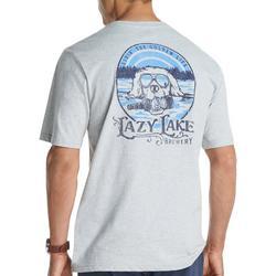 Mens Lazy Lake Short Sleeve T-Shirt
