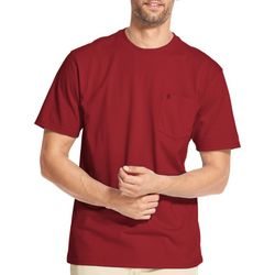 IZOD Mens Solid Pocket Short Sleeve T-Shirt