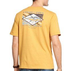 IZOD Mens Crest & Cove Short Sleeve T-Shirt