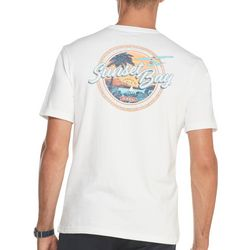 IZOD Mens Sunset Bay Short Sleeve T-Shirt