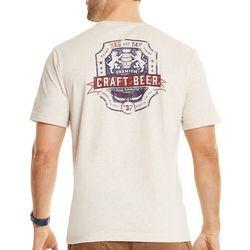 IZOD Mens Craft Beer Short Sleeve T-Shirt