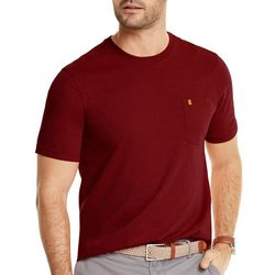 IZOD Mens Saltwater Solid Short Sleeve T-Shirt