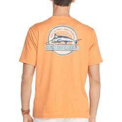 IZOD Mens High Tide Marina Short Sleeve T-Shirt