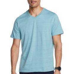 Van Heusen Mens Weekend Slim Fit V-Neck Short Sleeve T-Shirt