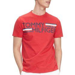 Tommy Hilfiger Mens Villa Logo Short Sleeve Shirt