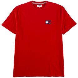 Tommy Hilfiger Mens Albie Patch Logo Short Sleeve Shirt