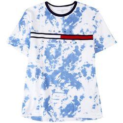 Tommy Hilfiger Mens Tino Tie Dye Short Sleeve Shirt