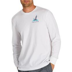 Mens Yeah Buoy Crusher Long Sleeve T-Shirt