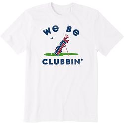 Life Is Good Mens We Be Clubbin' Crusher T-Shirt