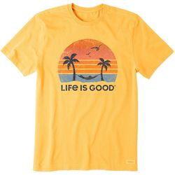 Life Is Good Mens Hammock Crusher T-Shirt