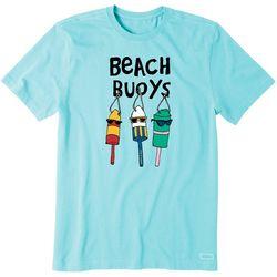 Life Is Good Mens Beach Buoys T-Shirt