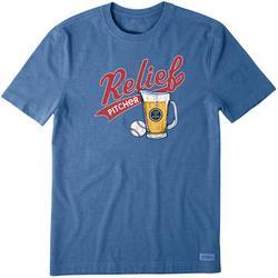 Mens Relief Pitcher T-Shirt