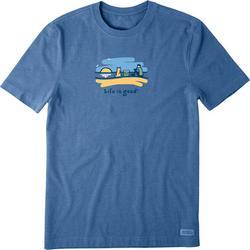 Mens Summer Gold Vintage T-Shirt