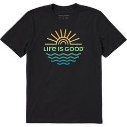 Life Is Good Mens Sun & Sea T-Shirt