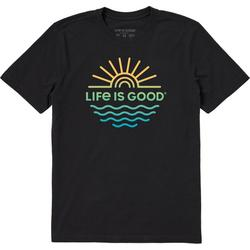 Mens Sun & Sea T-Shirt