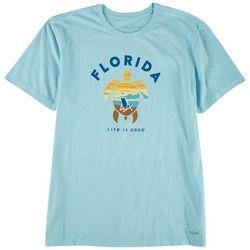 Life Is Good Mens Sunset Beach Crusher T-Shirt