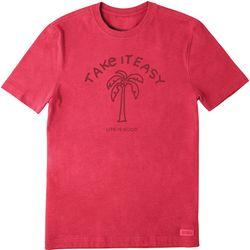 Life Is Good Mens Take It Easy T-Shirt