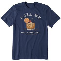 Life Is Good Mens Call Me Old Fashioned T-Shirt