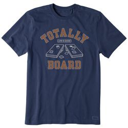 Life Is Good Mens Totally Board T-Shirt