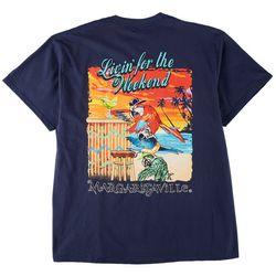 Margaritaville Mens Livin' for The Weekend T-Shirt