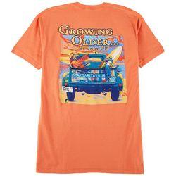 Margaritaville Mens Growing Older T-Shirt