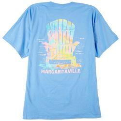 Margaritaville Mens Tie Dye Adriondeck T-Shirt