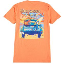 Margaritaville Mens Growing Older Not Up T-Shirt