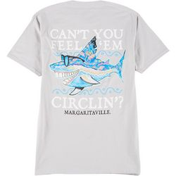 Margaritaville Mens Can't You Feel Em' Graphic T-Shirt