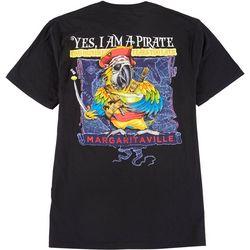 Margaritaville Mens Pirate Graphic T-Shirt