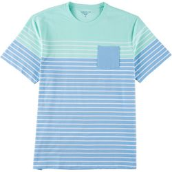 Tackle & Tides Mens Short Sleeve Stripe T-Shirt
