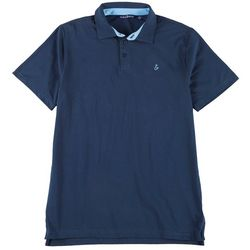 Tackle & Tides Mens Short Sleeve Solid Polo Shirt