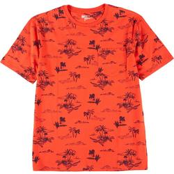 Mens Short Sleeve Printed T-Shirt